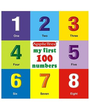 Apple Tree Picture Book Numbers 1 to 100- English