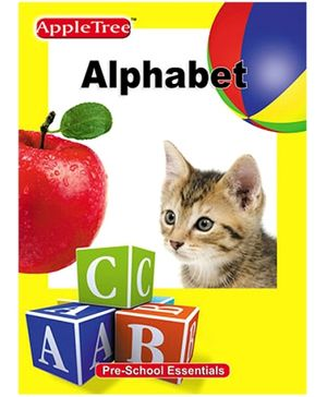 Apple Tree Pre School Series Alphabets- English