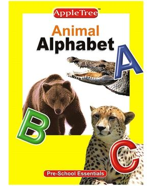 Apple Tree Pre School Series Animal Alphabet- English