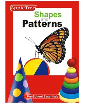 Apple Tree Pre School Series Shapes and Patterns- English