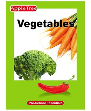 Apple Tree Pre School Series Vegetables- English