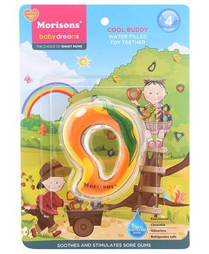 Morisons Baby Dreams Water Filled Toy Teether - Mango Shape