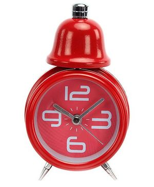 Fab N Funky Baby Alarm Clock- Red
