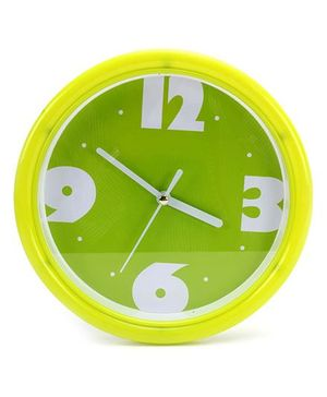 Fab N Funky Wall Clock- Green