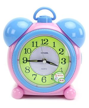 Fab N Funky Baby Alarm Clock- Pink and Blue