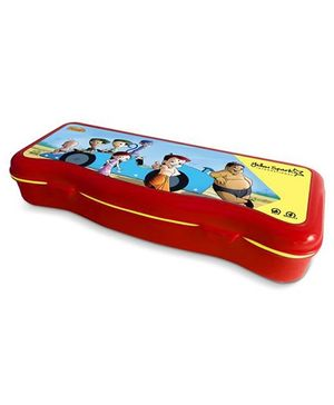 Chhota Bheem Plastic Pencil Box - Red