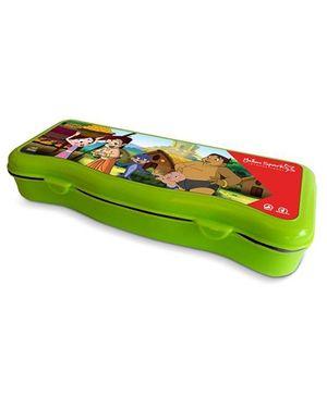 Chhota Bheem Plastic Pencil Box - Green