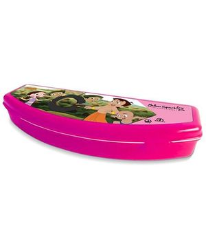 Chhota Bheem Plastic Pencil Box - Pink