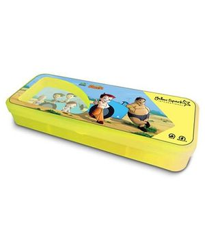 Chhota Bheem Translucent Finish Pencil Box - Yellow