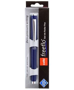 Cello Freeflow Roller Gel Pen- Blue