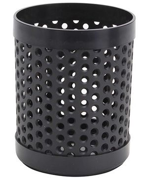 Chrome Mesh Style Pen Stand