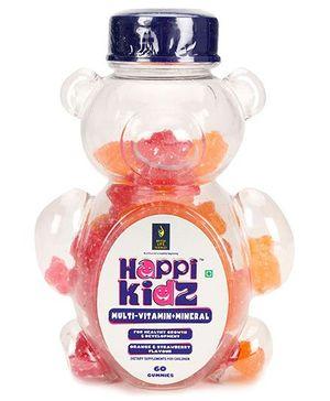 Happi Kidz Multivitamin And Mineral Gummies - 150 gram