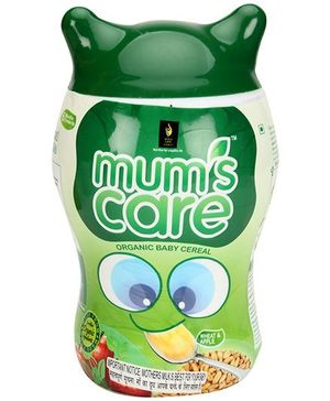 Mums Care Organic Apple and Wheat Flavor - 300 grams