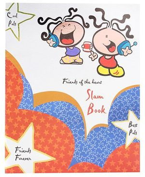 Archies Slam Book - Multi Colour Cover With Cartoons