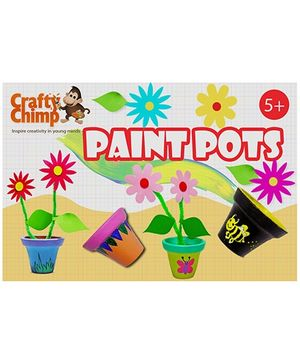 Crafty Chimp Paint Pots