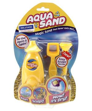 Aqua Sand Magic Sand -Yellow