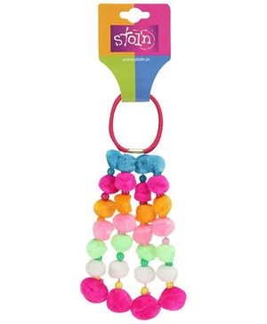 Stol'n Multicolour Rubber Band - Soft Balls Detail