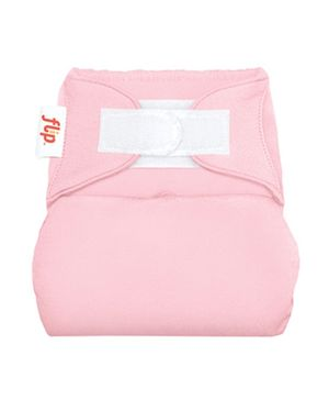 Flip Hook And Loop Stay Dry Cloth Diaper Cover Blossom