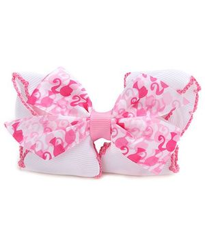 Barbie Ribbon Bow Barrette