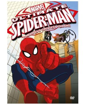 Sony Marvel Ultimate Spider Man Volume 2 Spider Man Vs Marvels Greatest Villains DVD - English