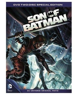 Sony DCU Son Of Batman Special Edition DVD - English