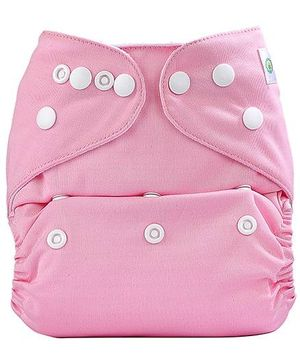 Bumberry Pocket Cloth Diaper With Insert - Pink