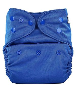 Bumberry Pocket Cloth Diaper With One Microfiber Insert - Deep Blue