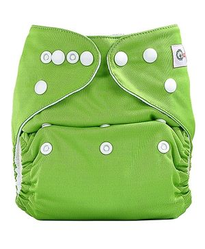Bumberry Pocket Cloth Diaper With One Microfiber Insert - Deep Green