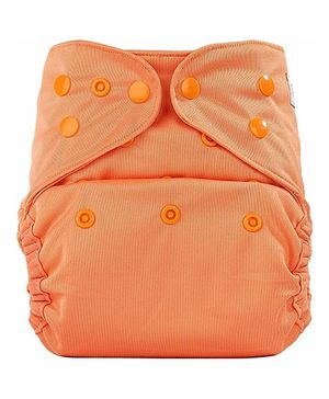 Bumberry Pocket Cloth Diaper With Insert - Light Orange