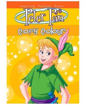 BPI Princess Copy Colour Book - Peter Pan