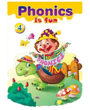 Macaw Phonics Is Fun Book 4 - English