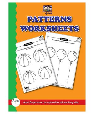 Creativity 4 Tots Farm Pattern Writing Worksheets - 24 Pages