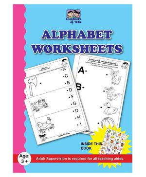 Creativity 4 Tots Letters of the Alphabet - 26 Pages