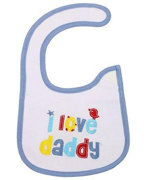 Littles Baby Bibs - I Love Daddy Print