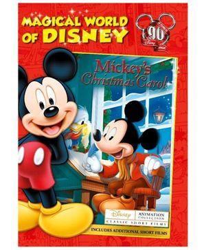 Magical World of Disney Mickeys Christmas Carol DVD - English