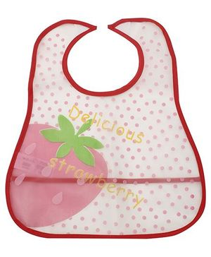 Fab N Funky Baby Bibs - Strawberry Print