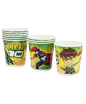 Ben 10 Paper Cups - Set of Ten