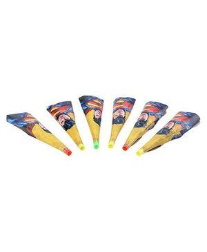 DC Comics Superman Paper Horns - Pack Of 6