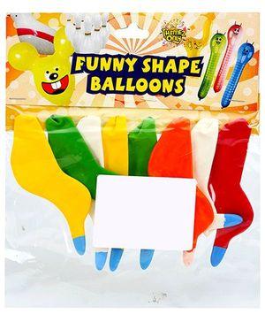 Celeberations! Rubber Play Balloons Funny Bird Shape Small - 8 Balloons