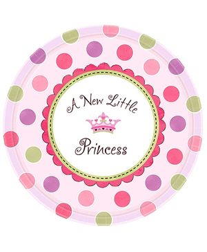 Wanna Party Little Princess Plate - Pack of 8