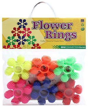 Buddyz Flower Rings - 12 Pieces