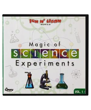 Fun N Learn Magic of Science Experiments VCD (Vol. 1)