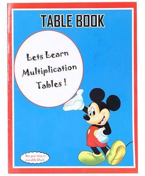 Blue Orange Publications Table Book - Blue