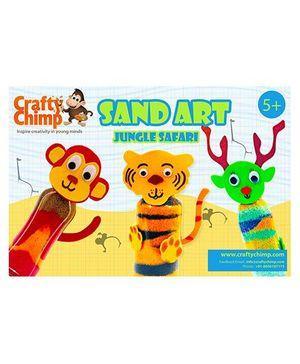 Crafty Chimp Sand Art - Jungle Safari