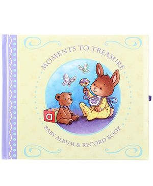 Award Publications Moments To Treasure Baby Album And Record Book - English