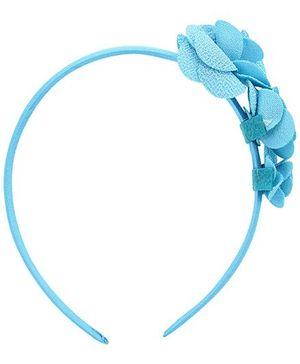 Stol'n Rose Design Hair Band - Blue
