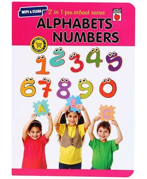 Apple Books 2 In 1 Preschool Series Alphabet Numbers - English