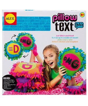 Alex Toys Pillow Text - OMG