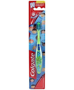 Colgate Smiles Extra Soft Tooth Brush - Frog Print