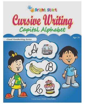 Brightstart Cursive Writing Capital Alphabet - English